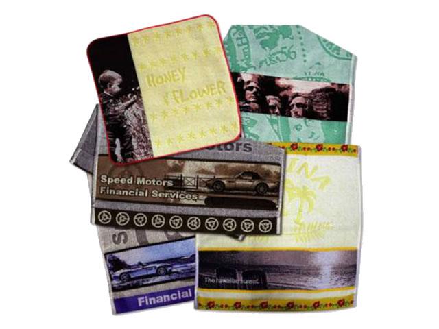 写真織タオル